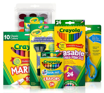 Back to School Supplies Kit (Grade 4-6) Front View